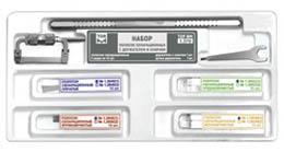 Набор полосок сепарационных с держателем и ключом